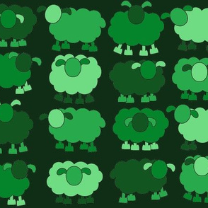 green sheeps