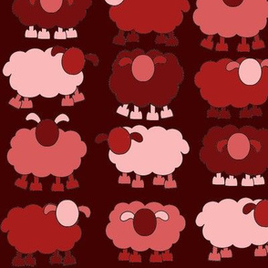 red sheeps