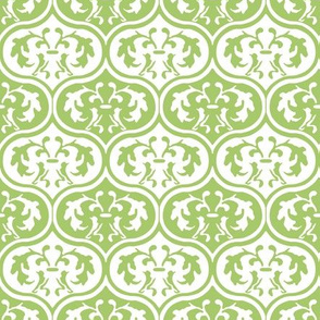 Moroccan Leaves - Green