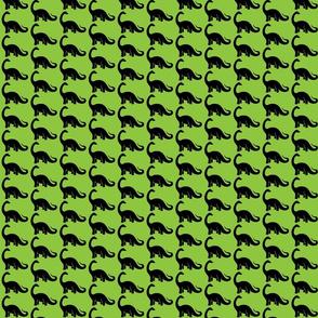 Green Apatosaurus