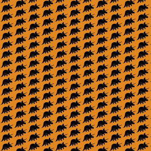 Orange Triceratops