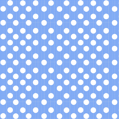 chambray dots fabric by daniellereneefalk on Spoonflower - custom fabric