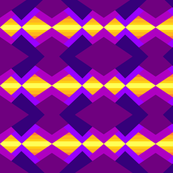 Purples and yellow tribal