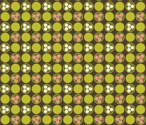 Dim Sum Dots fabric by hmooreart on Spoonflower - custom fabric