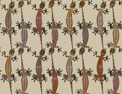 gecko stripe stone