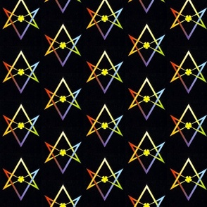 Thelema Unicursal Hexagram