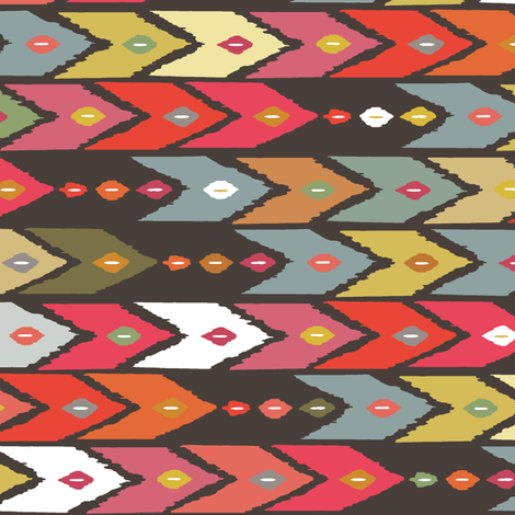 beach arrow fabric by scrummy on Spoonflower - custom fabric
