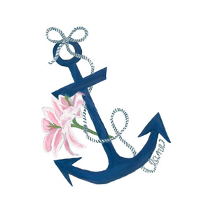 Anchor Lily oversize