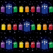 Tardis Spectrum in Space
