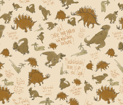 Curse your sudden.... fabric by aliceelettrica on Spoonflower - custom fabric
