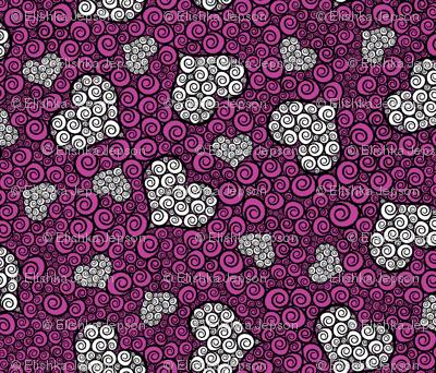 Hearts are Wild (Dark Pink)