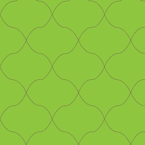 Tulip-green fabric by sarahjanke on Spoonflower - custom fabric