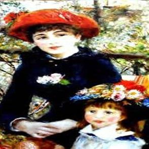 Renoir - Mother and Daughter