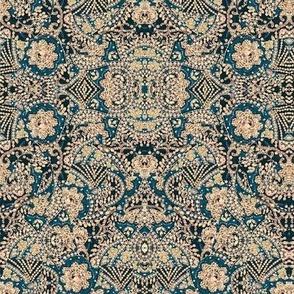 Floral Beadwork Print