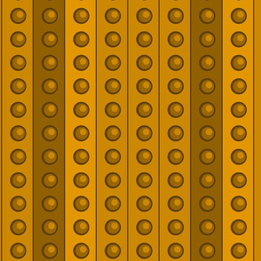 Small Gold DalekDots
