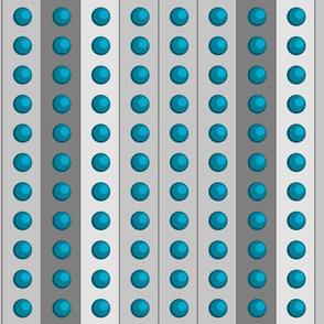 Small Blue DalekDots