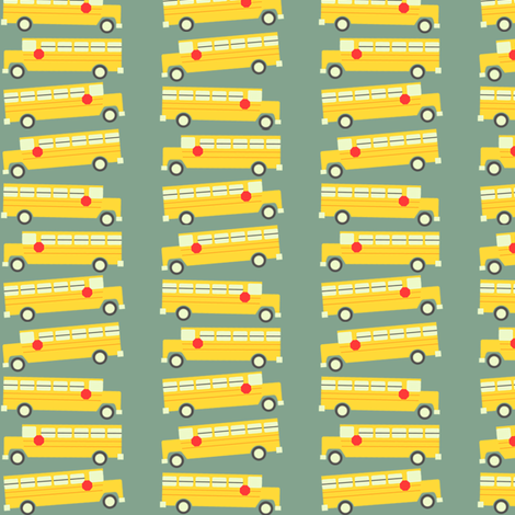 buses fabric by natitys on Spoonflower - custom fabric