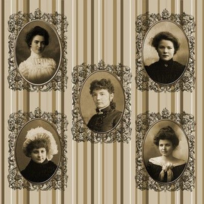 Lady's of Old Framed 01