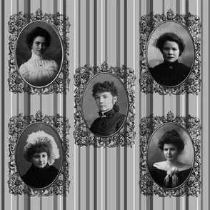 Lady's of Old Framed 02