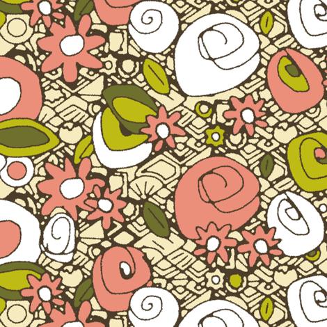 retro dim sum fabric by scrummy on Spoonflower - custom fabric