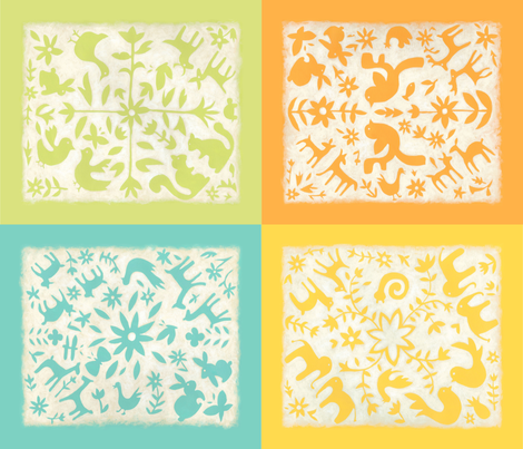 otomi blocks fabric by chariklia_zarris on Spoonflower - custom fabric