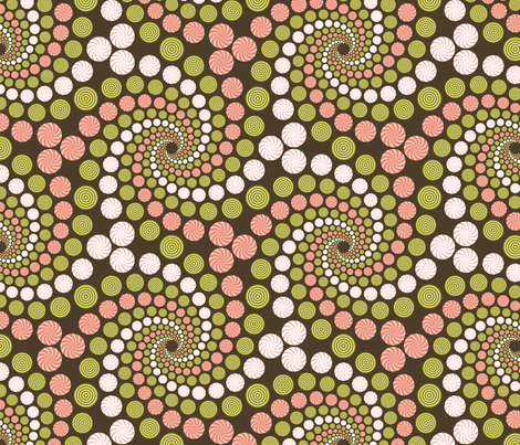 chinese balls swirl fabric by sef on Spoonflower - custom fabric