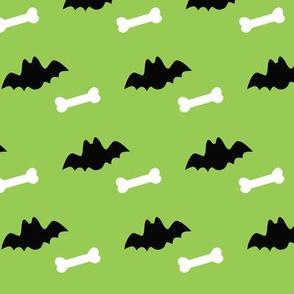 Green Bats and Bones