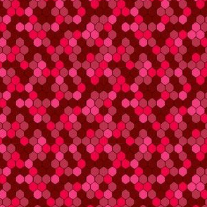 ruby sparkle honeycomb