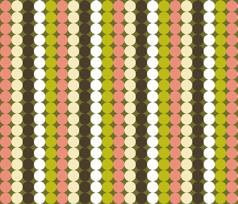 Cantonese Meal (Dots) fabric by vannina on Spoonflower - custom fabric