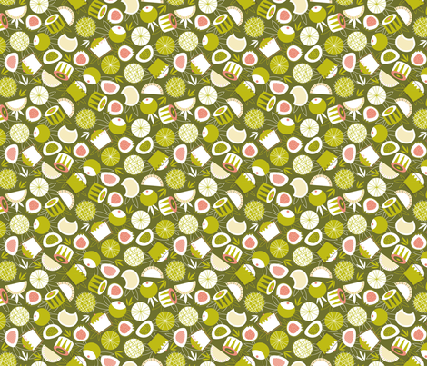 Dim(me) Sum(more)! fabric by nadiahassan on Spoonflower - custom fabric
