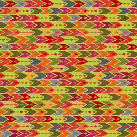 festive arrow fabric by scrummy on Spoonflower - custom fabric