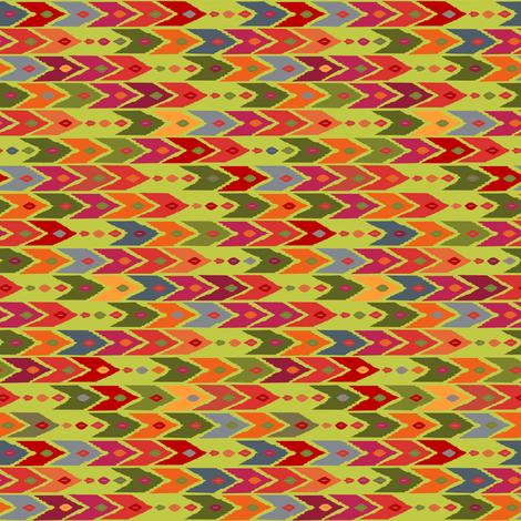 festive arrow fabric by scrummy on Spoonflower - custom fabric