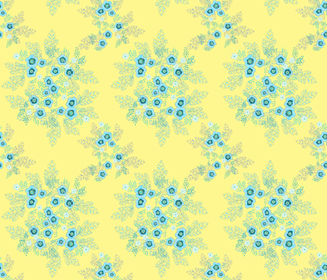 sunny enamel fabric by atomic_bloom on Spoonflower - custom fabric