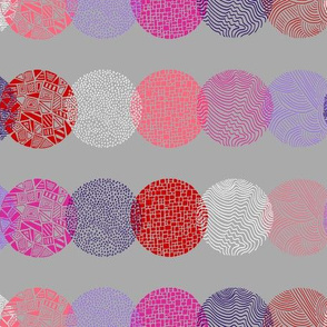 Fragment_circles_pink_purple_peach_white_on_grey