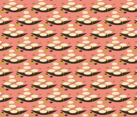Kärntner Kasnudeln fabric by ruthjohanna on Spoonflower - custom fabric