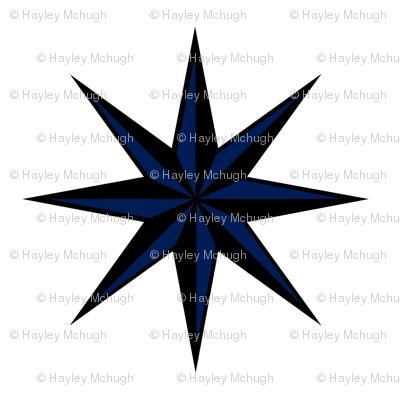 Ditsy star