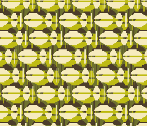 dim sum dishes fabric by heleenvanbuul on Spoonflower - custom fabric