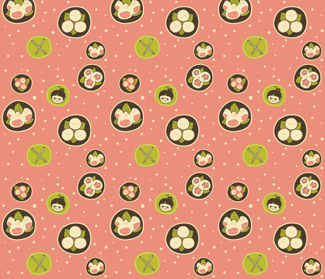 Dim Sum fabric by nobonesleft on Spoonflower - custom fabric