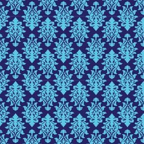 Wallpaper Print-blue