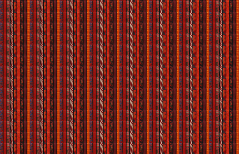 Red Desert fabric by skcreations,_llc on Spoonflower - custom fabric