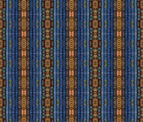 Sierra Blue fabric by skcreations,_llc on Spoonflower - custom fabric