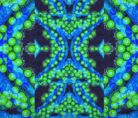 bubbling along fabric by ann-dee on Spoonflower - custom fabric