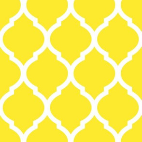 Yellow Moroccan Lattice