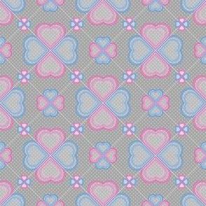 Chiffon Hearts