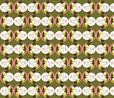 Dim Sum in a Booth fabric by van_winkle on Spoonflower - custom fabric