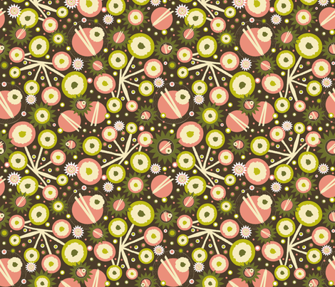 Dim Sum Darling fabric by arttreedesigns on Spoonflower - custom fabric