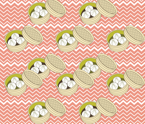 Dim Sum fabric by allisonkreftdesigns on Spoonflower - custom fabric