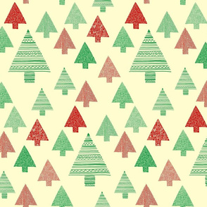 Christmas_trees_green_red_on_cream_background