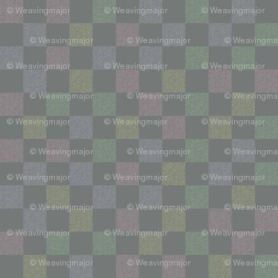 chalk rainbow checkerboard