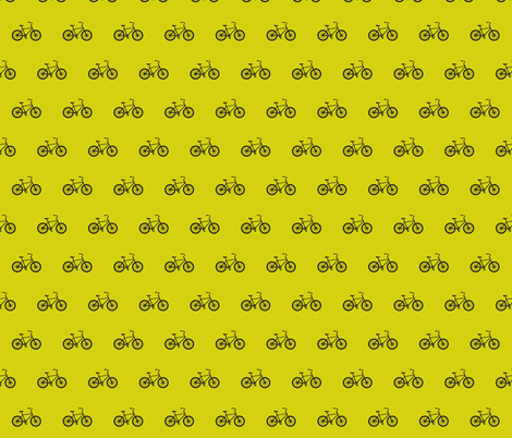 Small bike pea green  fabric by sandeeroyalty on Spoonflower - custom fabric